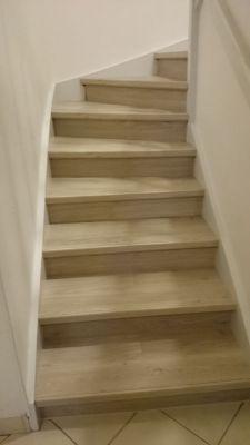 escalier en bois sur mesure lyon. Black Bedroom Furniture Sets. Home Design Ideas